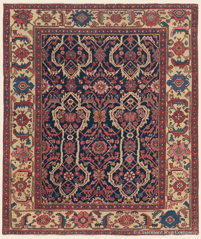 Antique Persian Heriz Rug Bb2402: SERAPI HERIZ, Northwest Persian Antique Rug