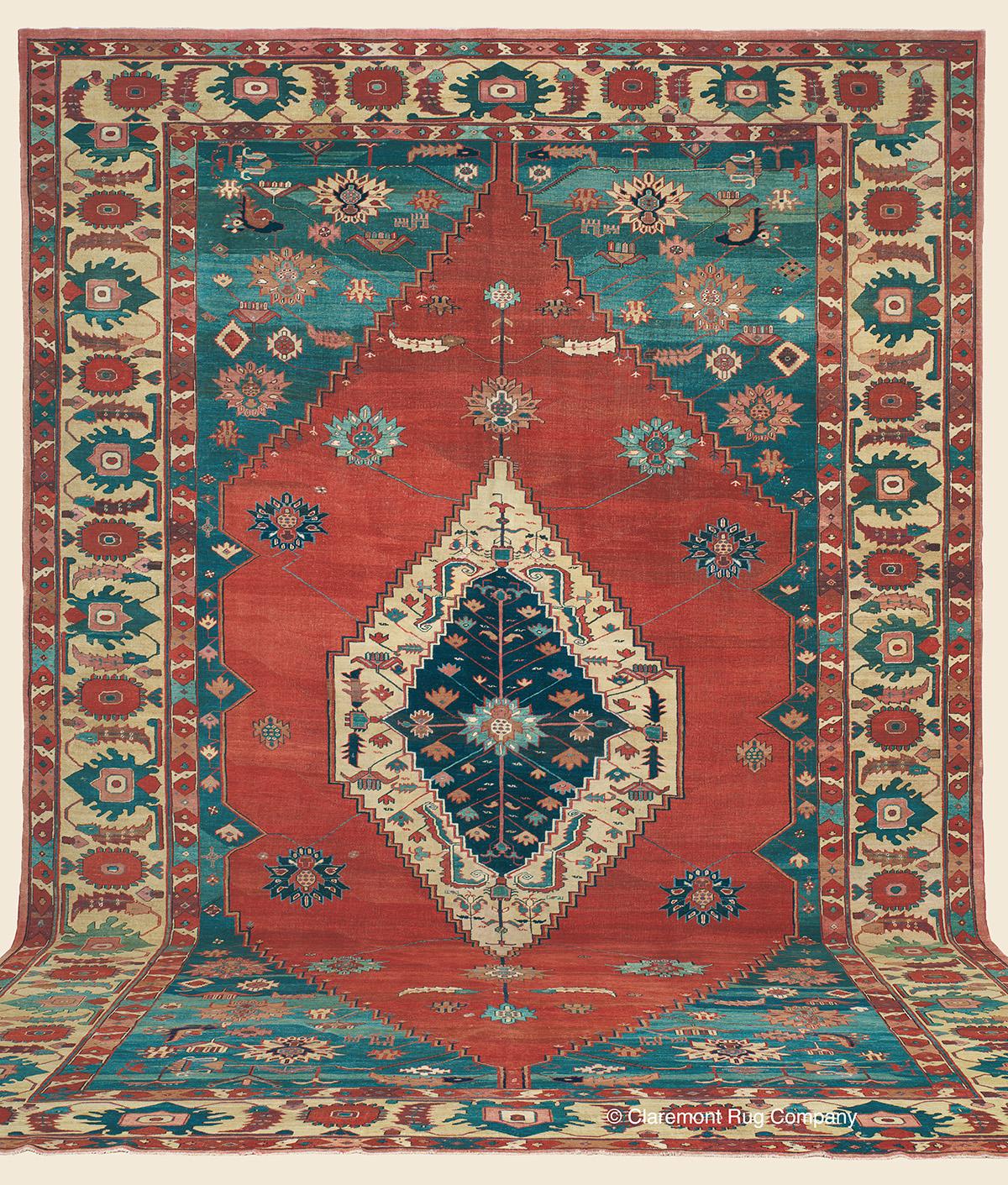 13ft X 19ft Bakshaish Antique Rug