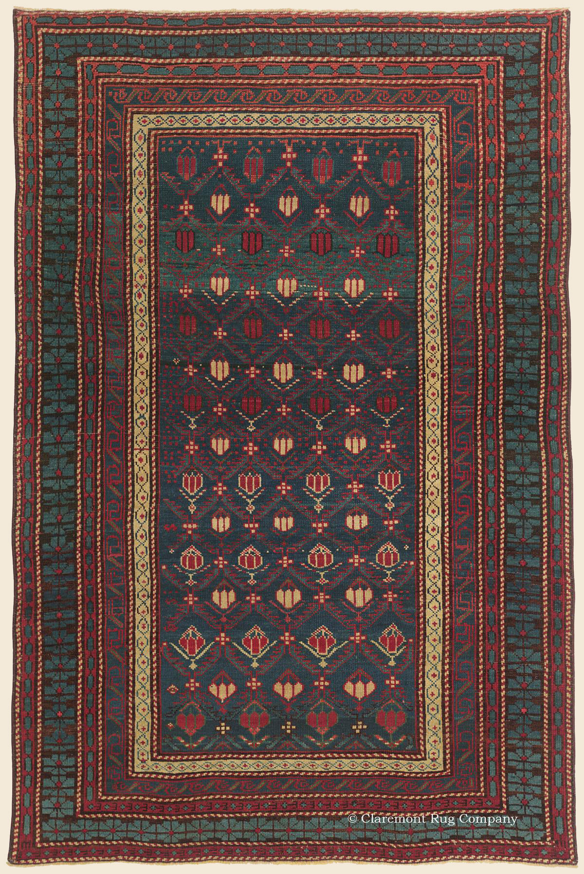 Shirvan Southeast Caucasian Antique Rug Claremont Rug