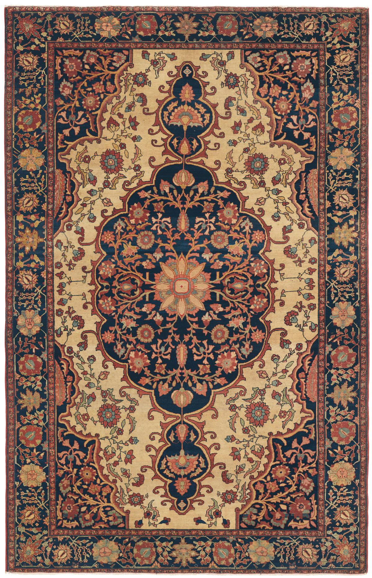 Ferahan Sarouk West Central Persian Antique Rug
