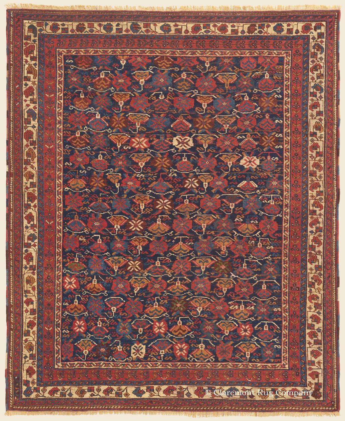 AFSHAR, Southeast Persian Antique Rug