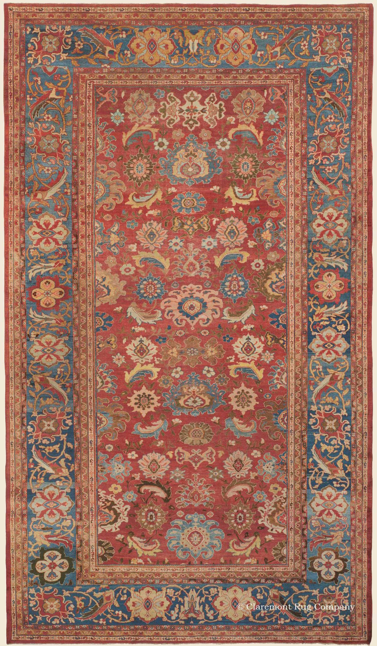 Sultanabad West Central Persian Antique Rug Claremont
