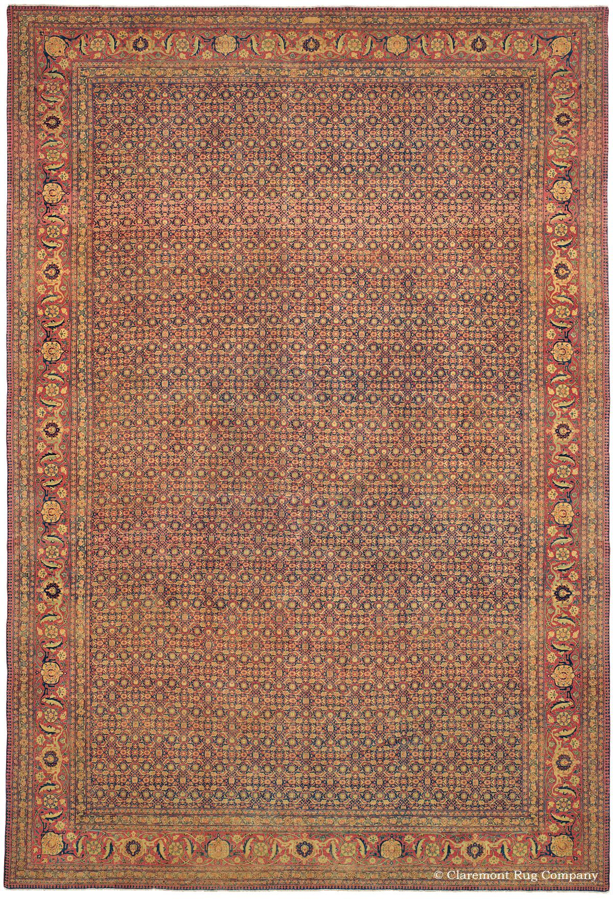 Antique rugs fine persian carpet gallery claremont rug for The rug company rugs