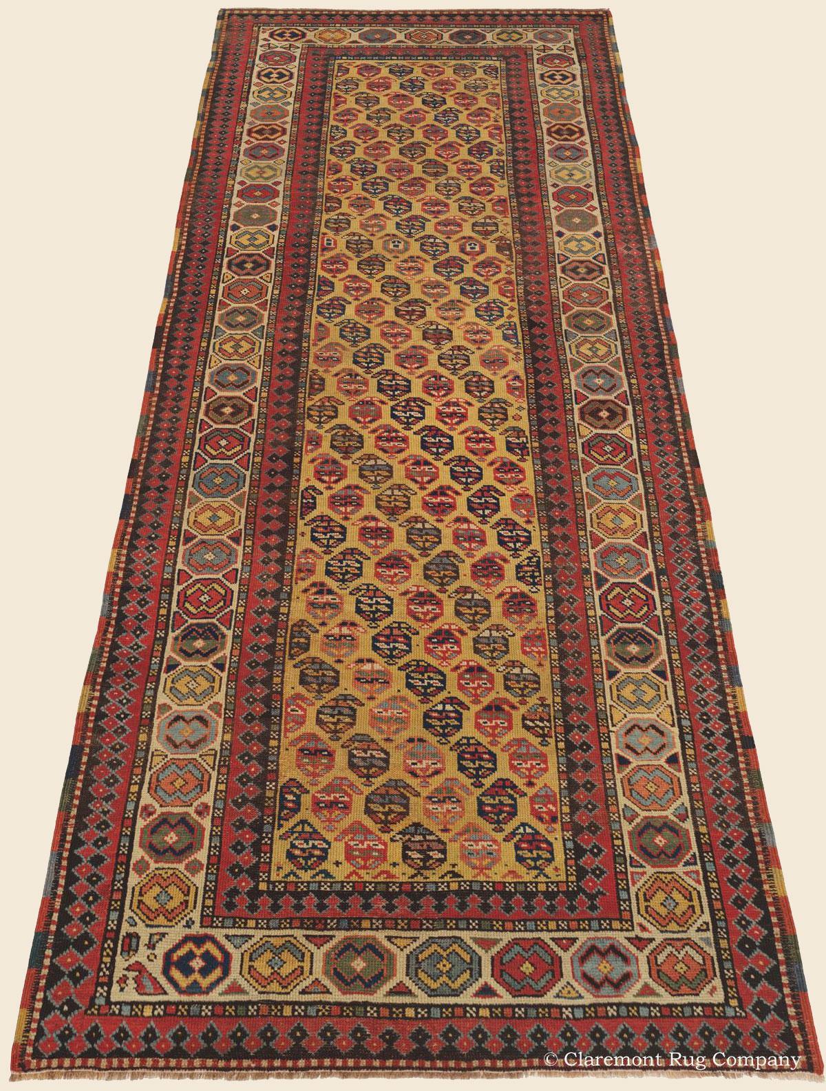 Gendje Runner Southern Caucasian Antique Rug Claremont