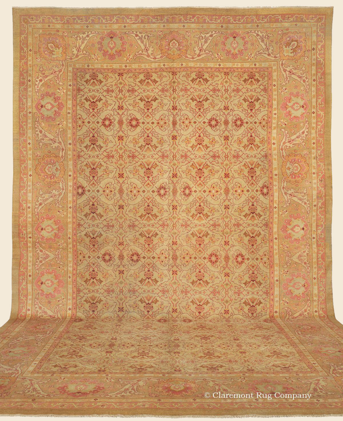 Oriental Rugs Jupiter Florida: AMRITSAR, Northern India Antique Rug