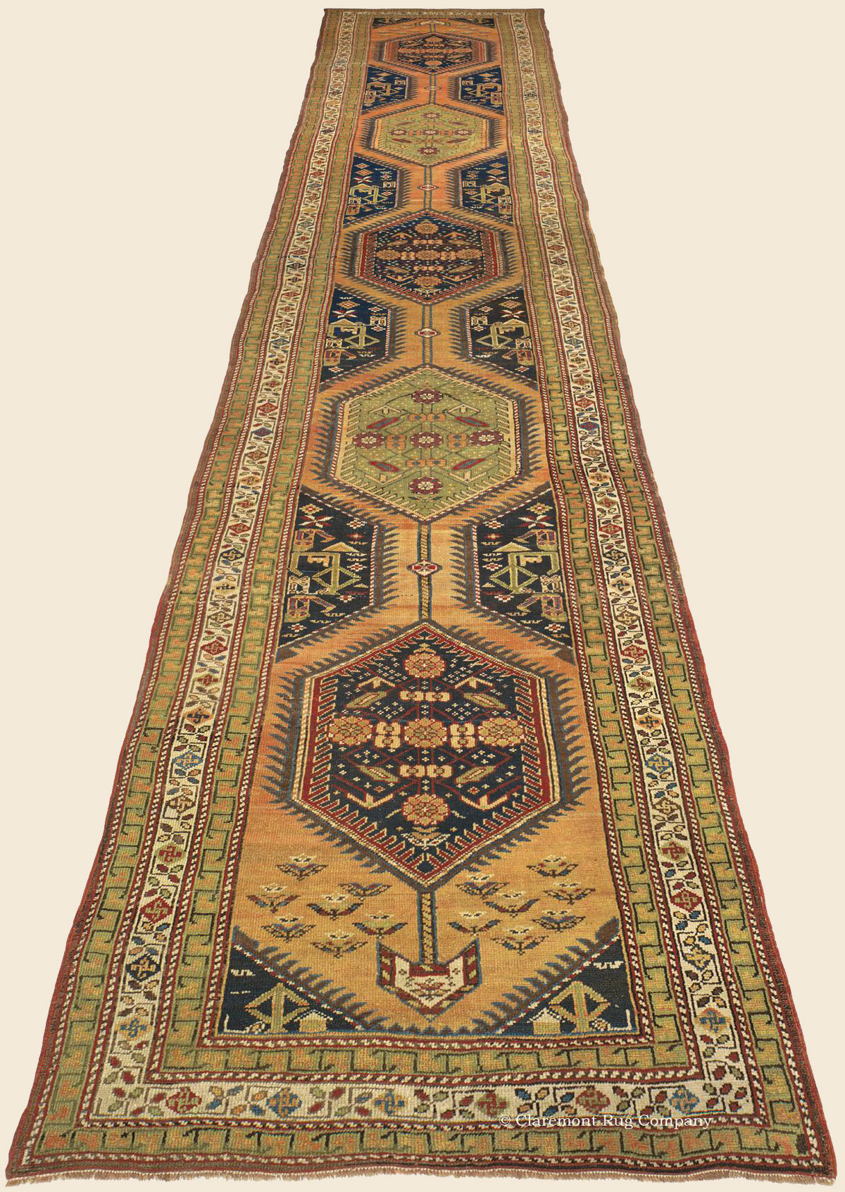 Serapi Runner Northwest Persian Antique Rug Claremont