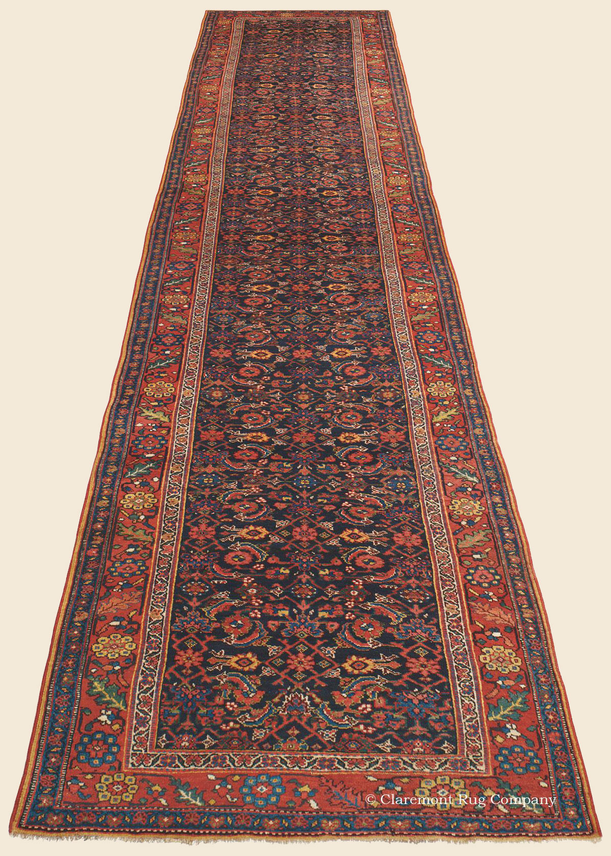 Bijar Bidjar Runner Northwest Persian Antique Rug