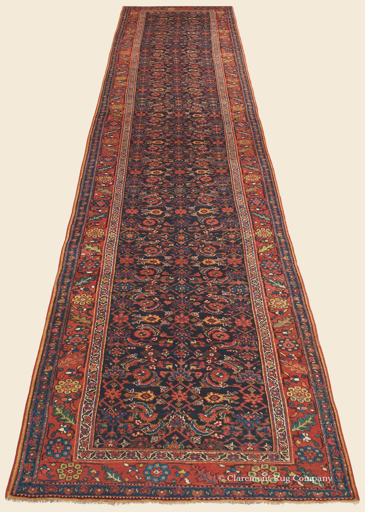 Bijar Bidjar Runner Northwest Persian Antique Rug