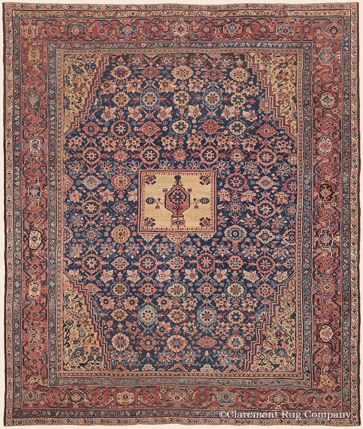 Antique Oriental Rugs Com: SULTANABAD, West Central Persian Antique Rug