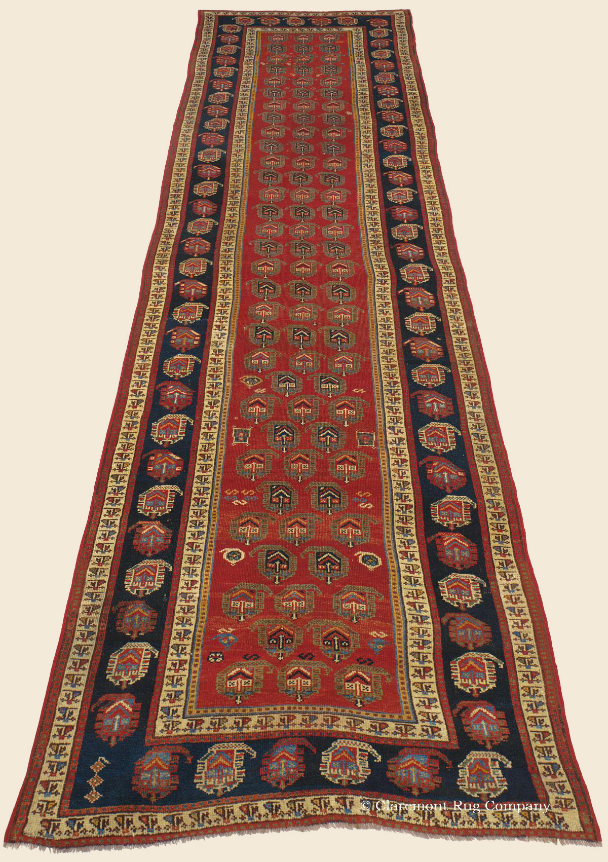 Kurdish Northwest Persian Antique Rug Claremont Rug Company
