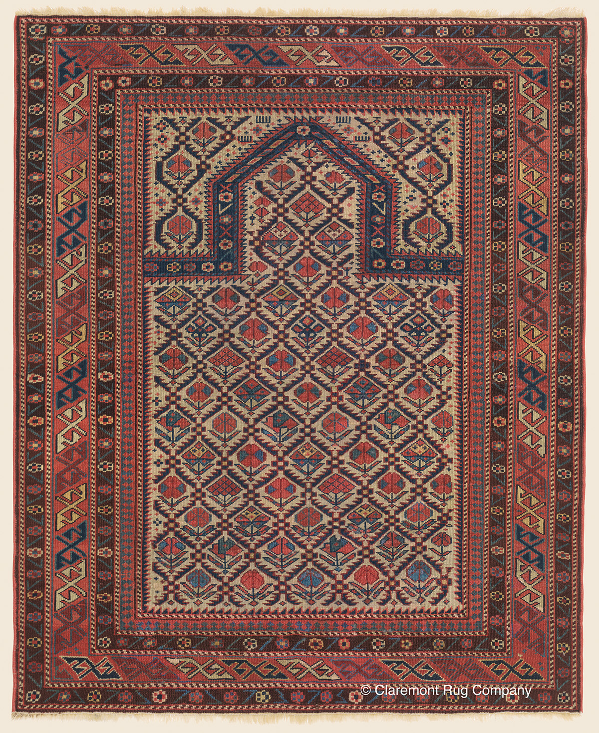 DAGHESTAN, Northeast Caucasian Antique Rug