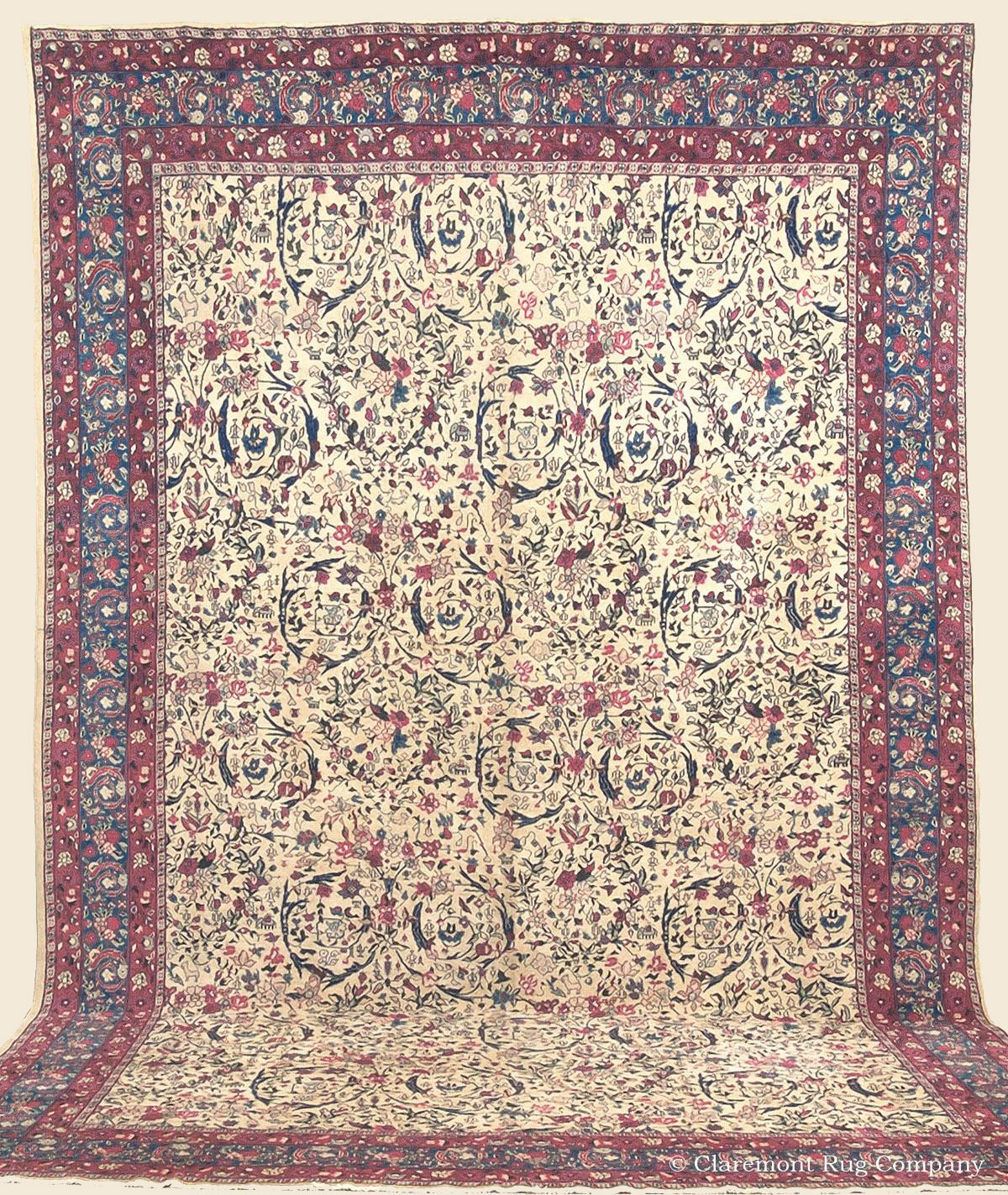 AGRA, Northern India Antique Rug