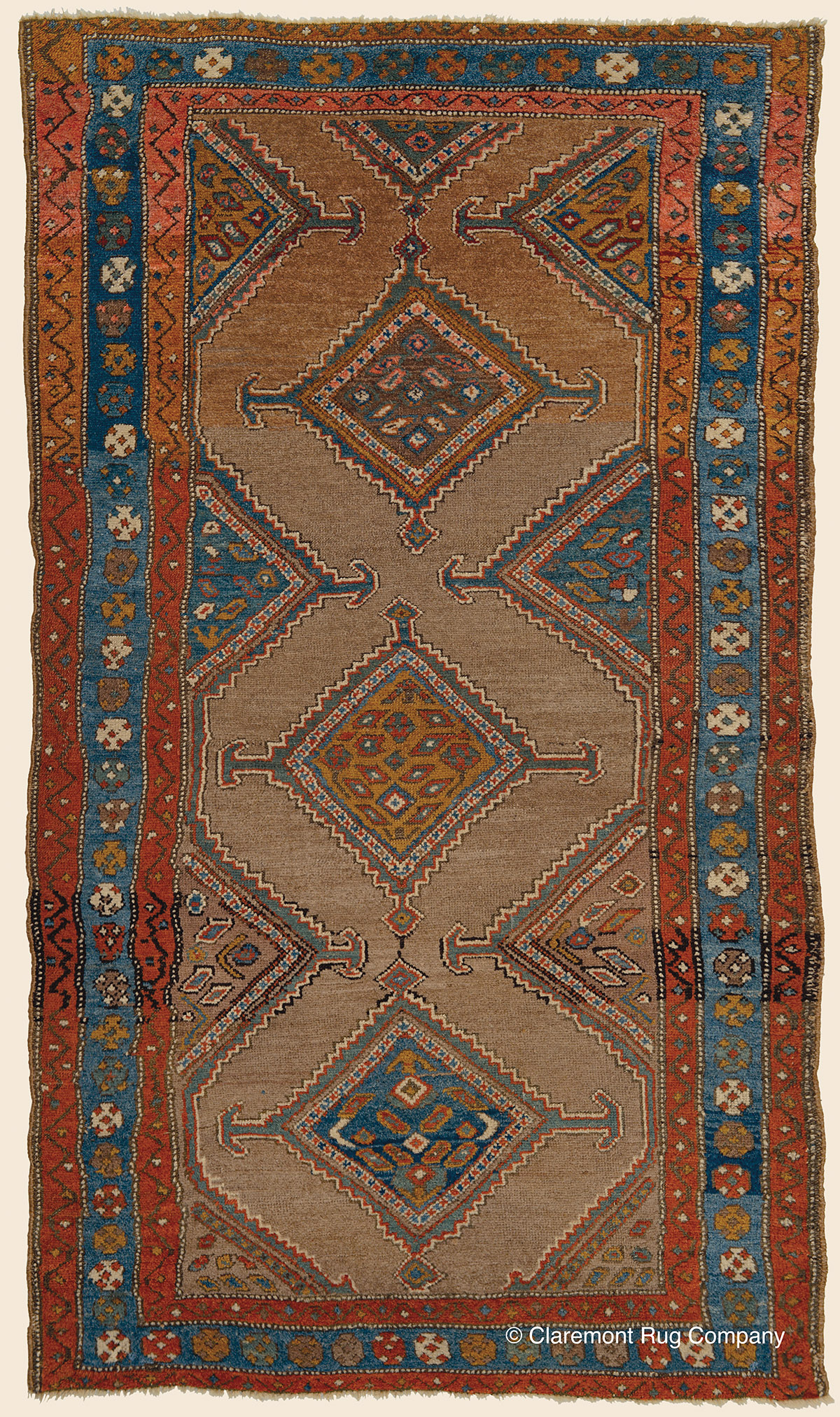 Kurdish camelhair northwest persian antique rug for The rug company rugs