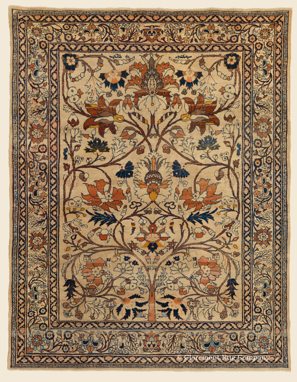 Northeast Persian Antique Rug