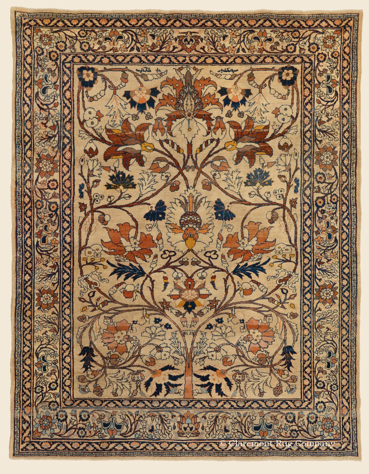 Dorasht Quot Tree Of Life Quot Northeast Persian Antique Rug