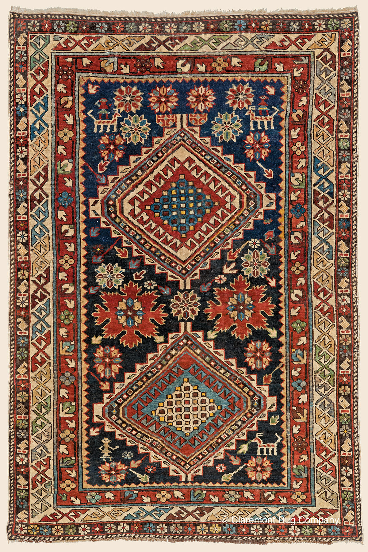 Shirvan southeast caucasian antique rug claremont rug for The rug company rugs