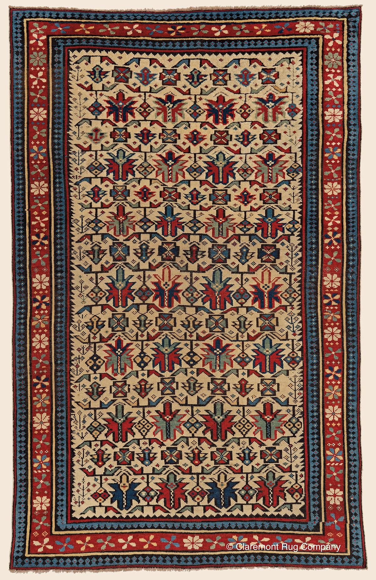 Chi Chi Southeast Caucasian Antique Rug Claremont Rug