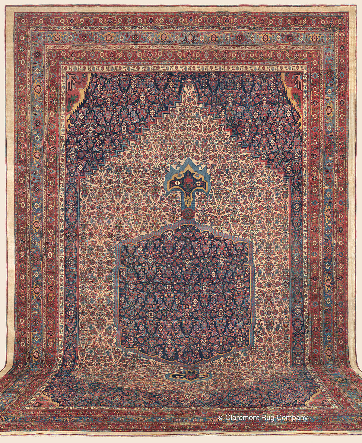 BIJAR (Bidjar), Northwest Persian Antique Rug