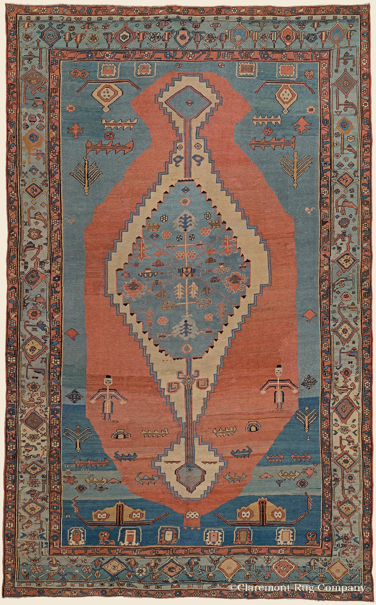 Bakshaish Northwest Persian Antique Rug Claremont Rug