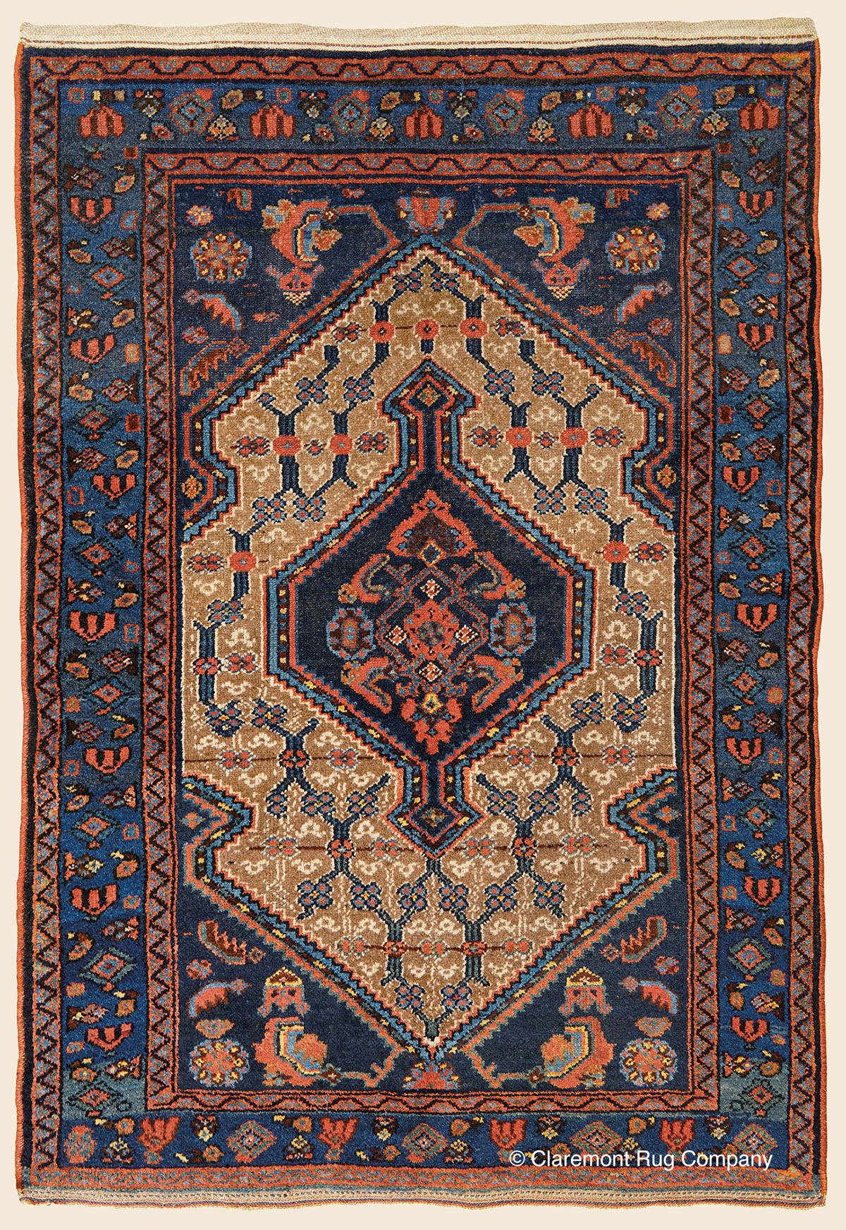 Hamadan Northwest Persian Antique Rug Claremont Rug Company