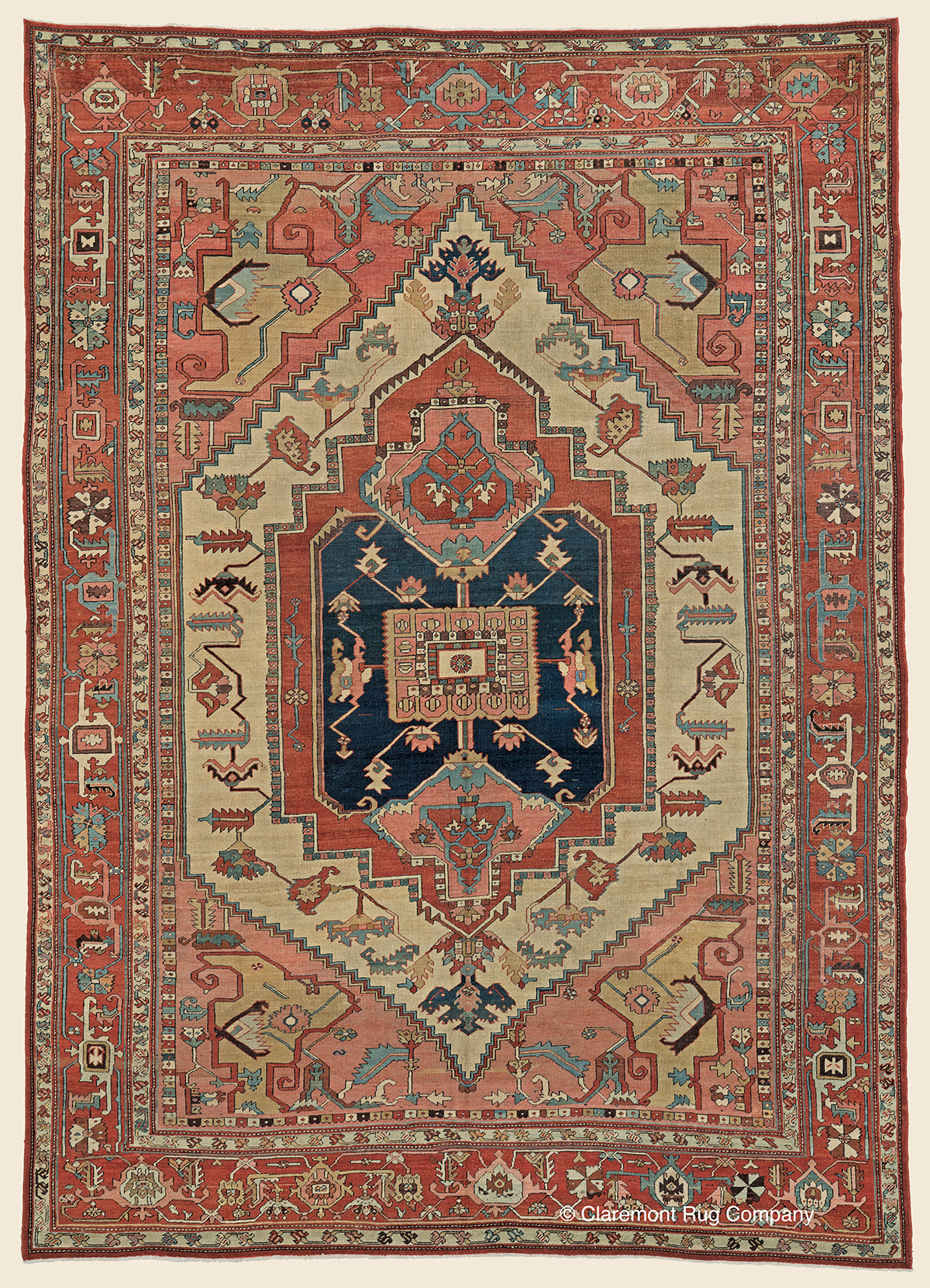 Serapi Northwest Persian Antique Rug Claremont Rug Company