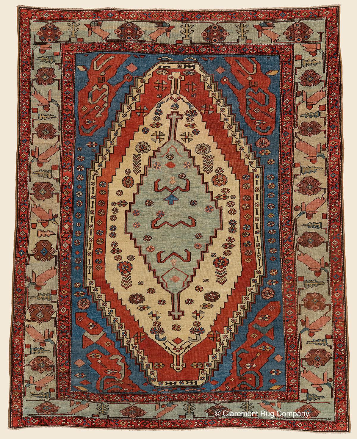 BAKSHAISH, Northwest Persian Antique Rug
