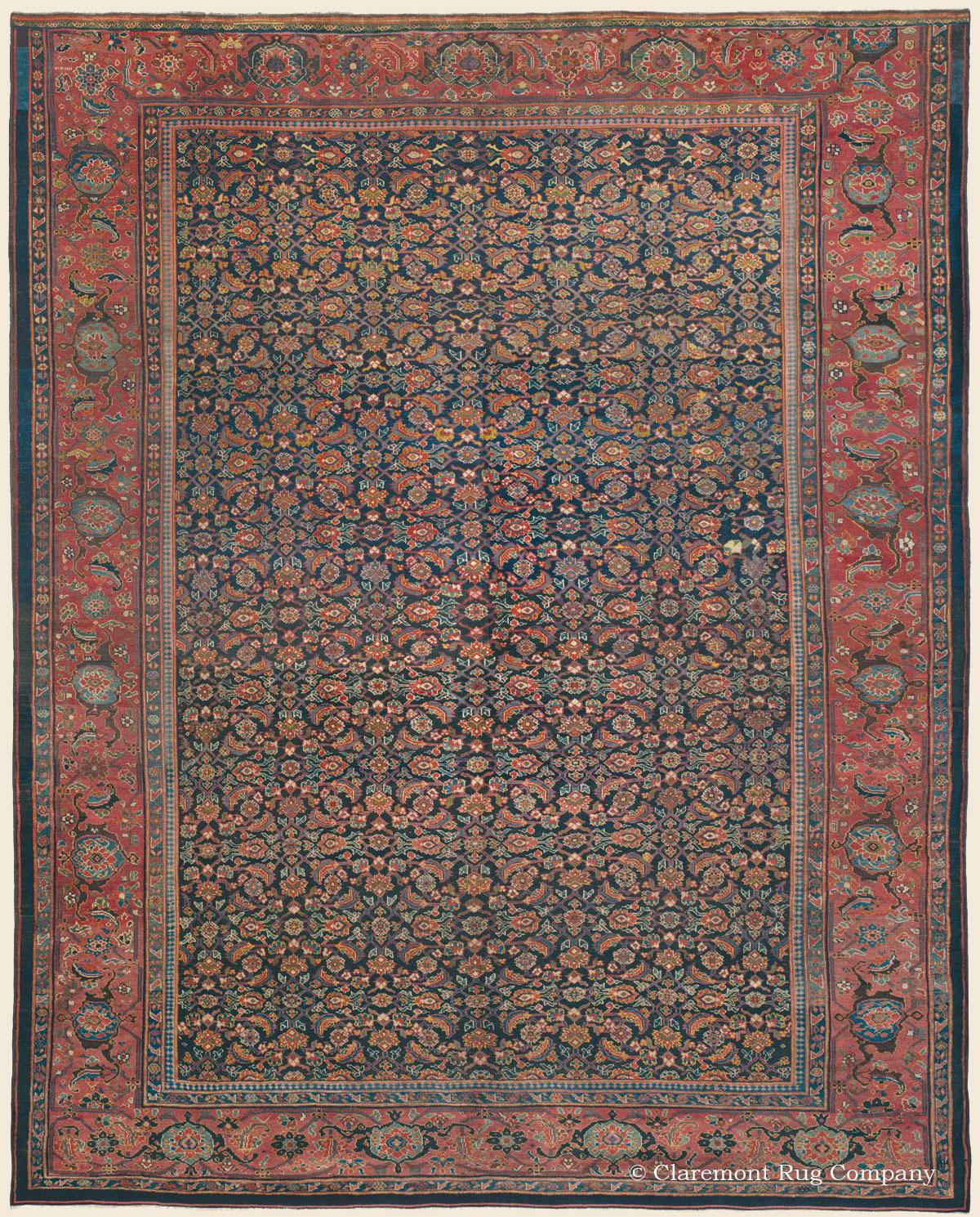 KURDISH BIJAR (Bidjar, Northwest Persian Antique Rug