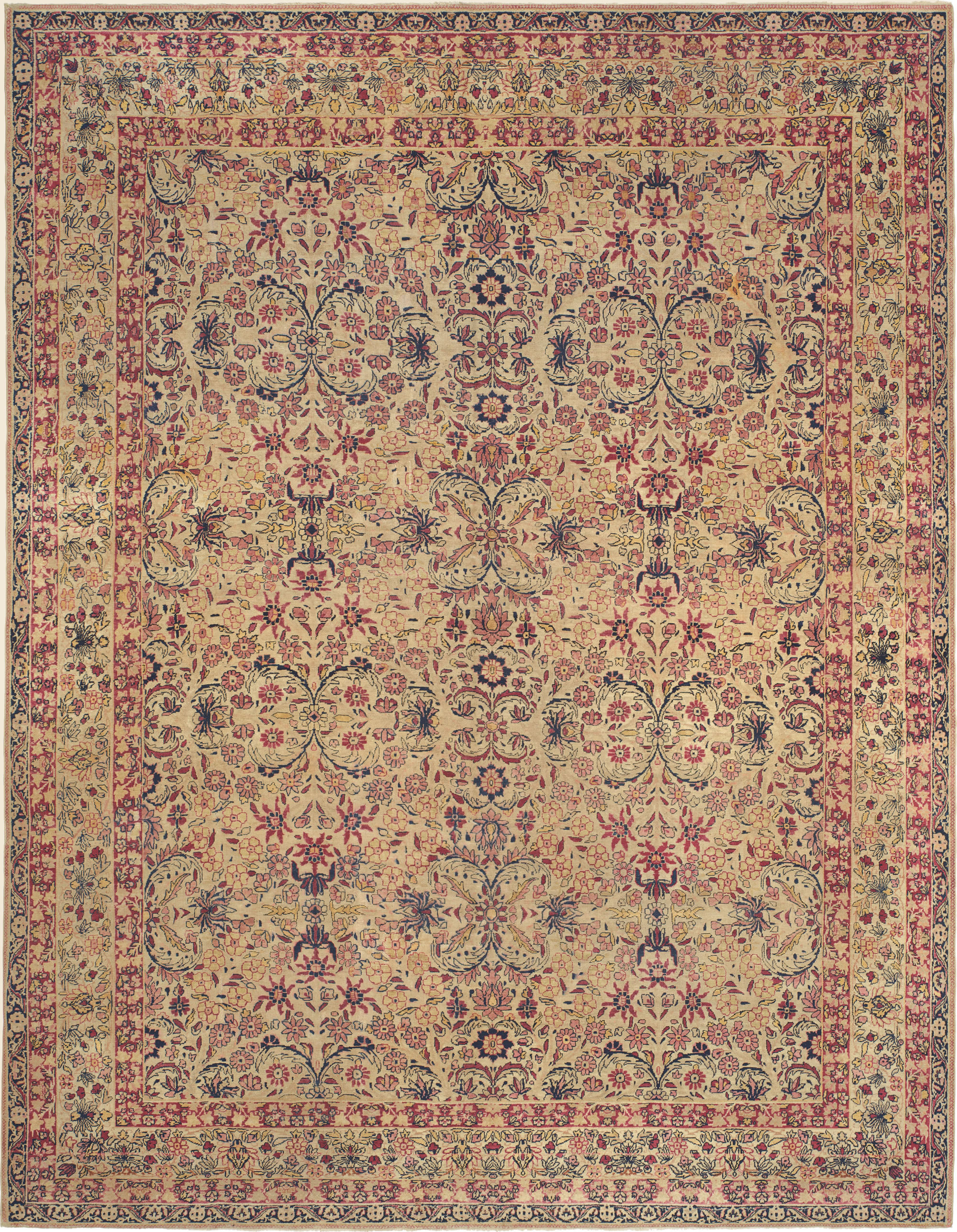 Antique Rugs Fine Persian Carpet