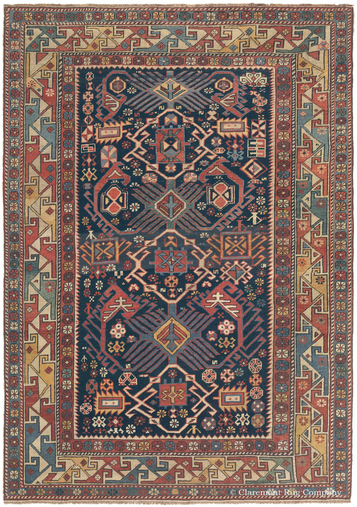 Antique Persian Rug Collectible Caucasian Rug