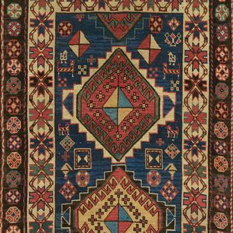 TRIPLE MEDALLION KAZAK, Southern Central Caucasian