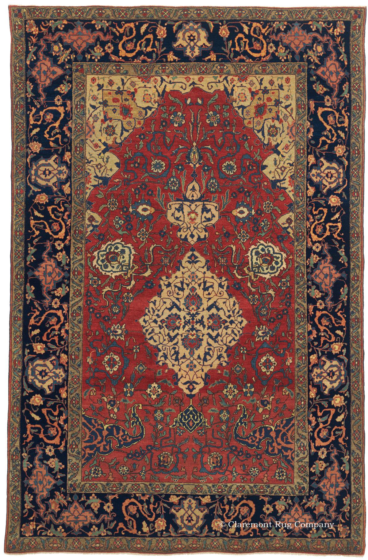 Antique Persian Rug Masterwork