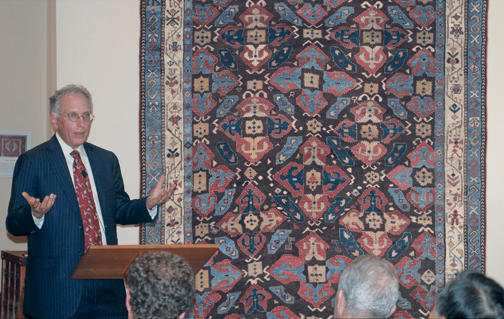 An image of Jan David Winitz, President and founder of Claremont Rug Company