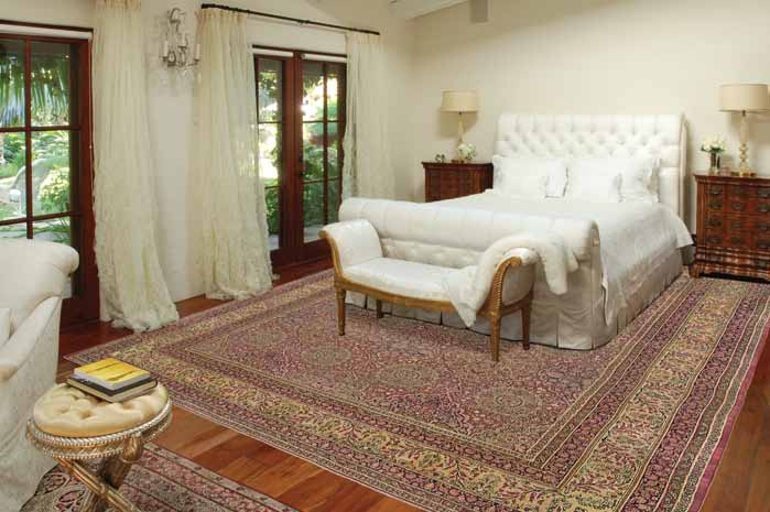 Room size Largest size Recommended 4' x 6' 3' x 5' 6' x 9' 5... Below are some recommendations of rug sizes based on...