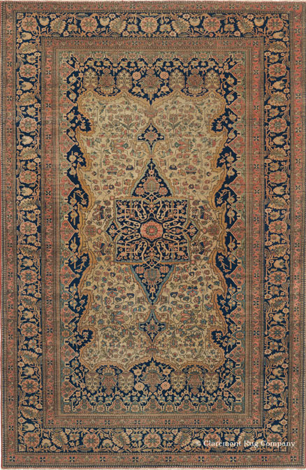 Caucasian Bordjalou Kazak Rug, 4ft 8in x 6ft 6in, late 19th century.