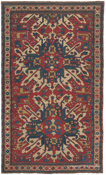 Learn More about Eagle Kazak (Chelaberd Karabagh) Caucasian Rugs