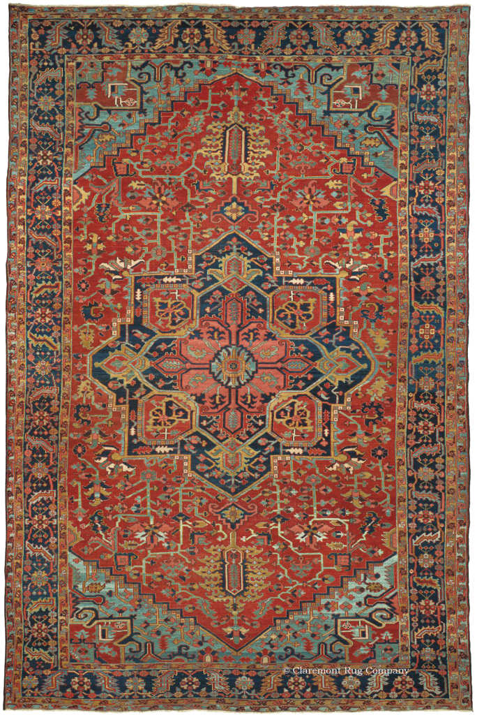 Northwest Persian Heriz Antique Rug