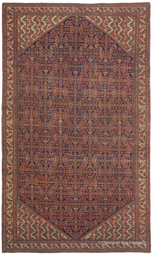 Northern Persian Veramin Antique rug from Claremont Rug Company