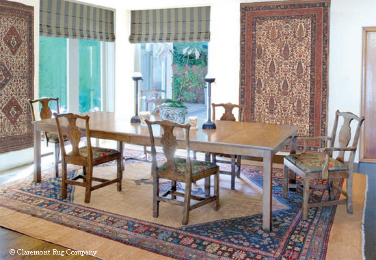 19th century tribal oriental rugs