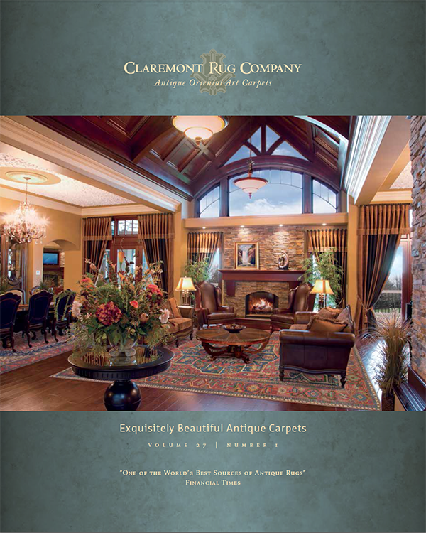 Claremont Rug Company Prints First 2015 Catalog Of Rarely Seen Antique  Oriental Rugs   Claremont Rug Company