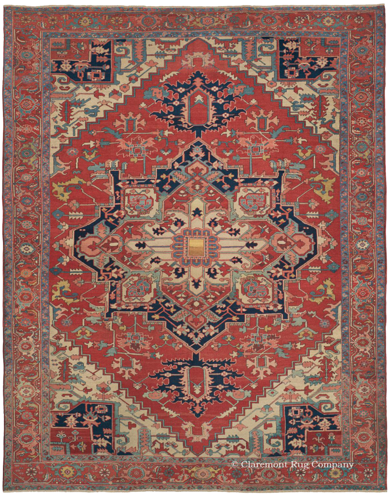Learn More about Northwest Persian 19th Century Serapi Rug