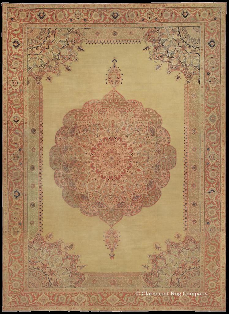Hadji Jallili Tabriz 13ft 4in x 18ft 8in Circa 1850