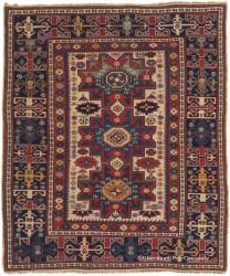 Antique Persian Lesghi Caucasian Rug