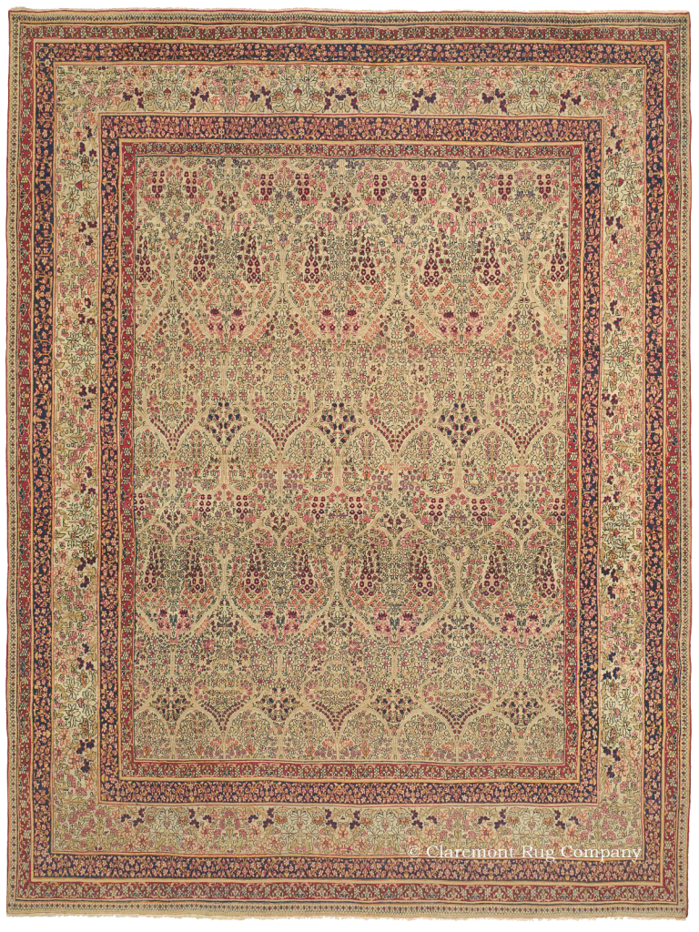 Click for a larger image of this Laver Kirman Rug