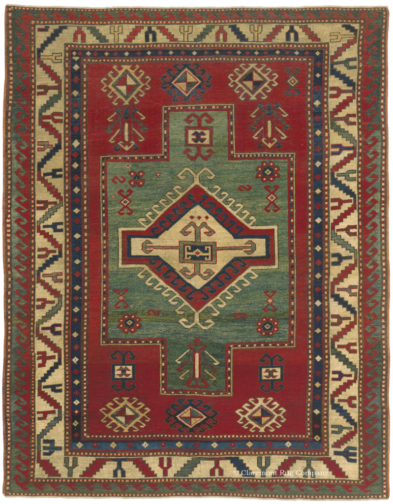 Click to learn more about this Fachralo Kazak Southern Central Caucasian Rugs