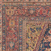 Antique Oriental Sultanabad Rug 11ft 4in x13ft 4in