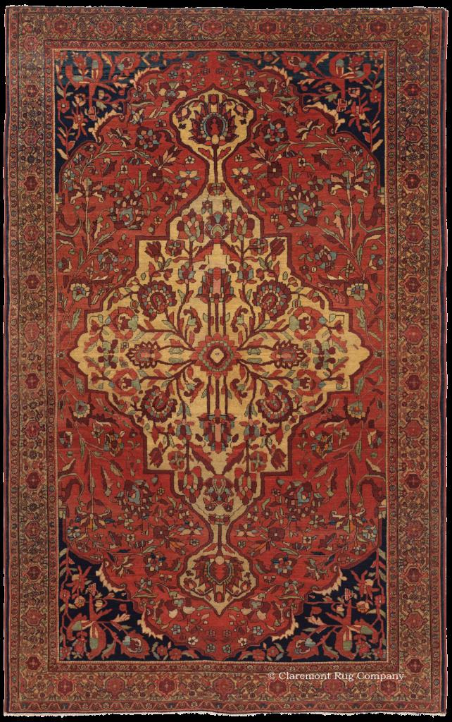 Persian Ferahan Sarouk Antique Rug