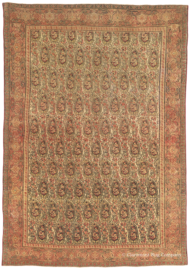 Northwest Persian Senneh Antique Rug from Claremont Rug Company