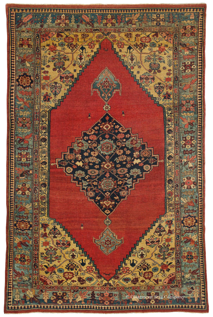 Click for a larger image of this Bijar antique rug