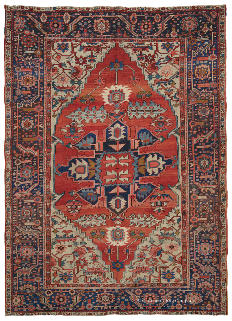 Click for a larger image of this Serapi carpet