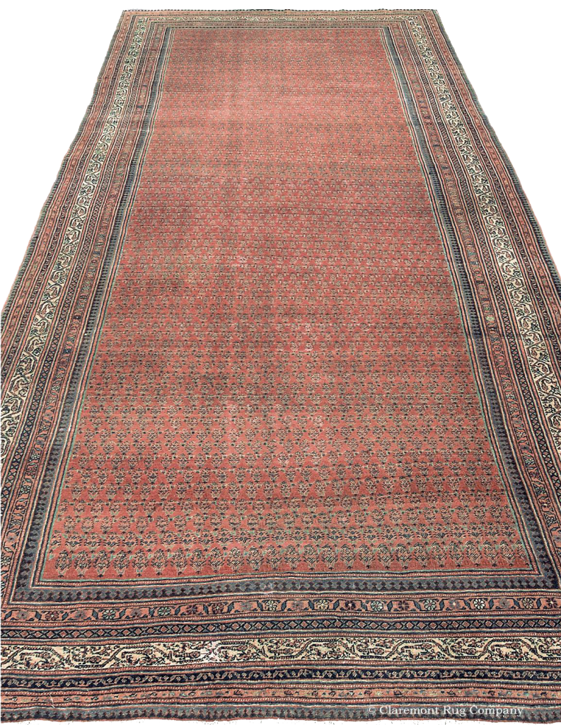 Central Persian Seraband Corridor Rug 6ft 9in x 16ft